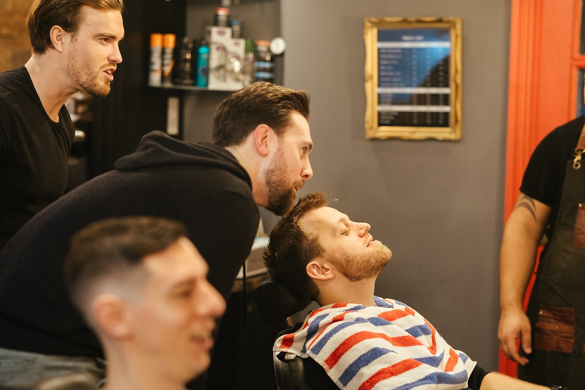 Wet shave at Amersham Ottoman barbers