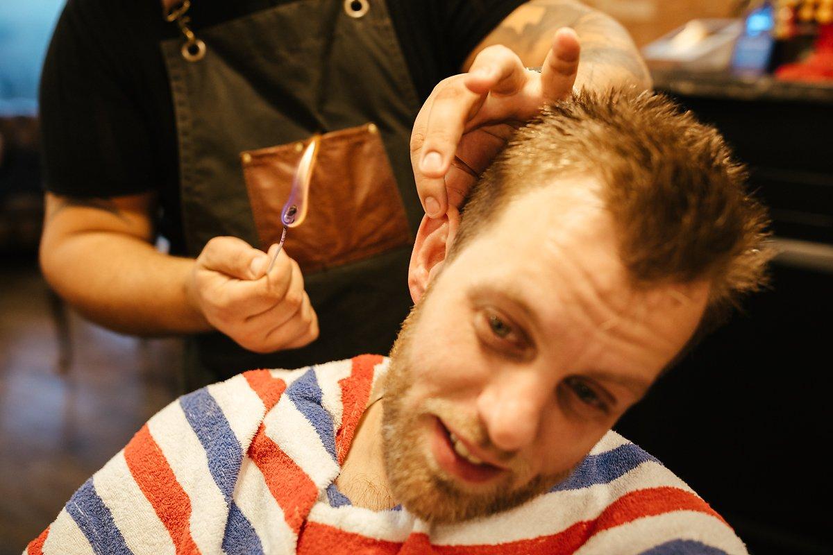 Groom getting groomed in Amersham