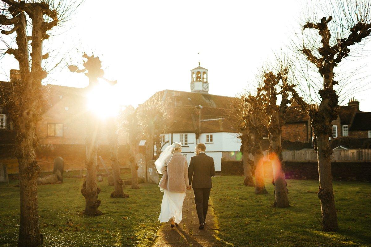 romantic old amersham wedding