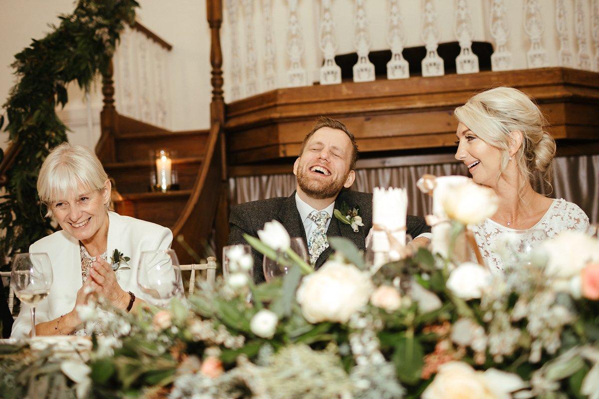 Documentary style wedding photos