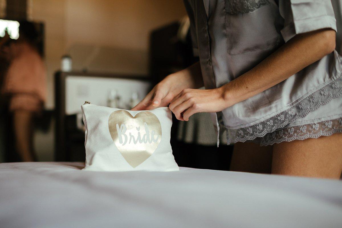 White Bride Bag