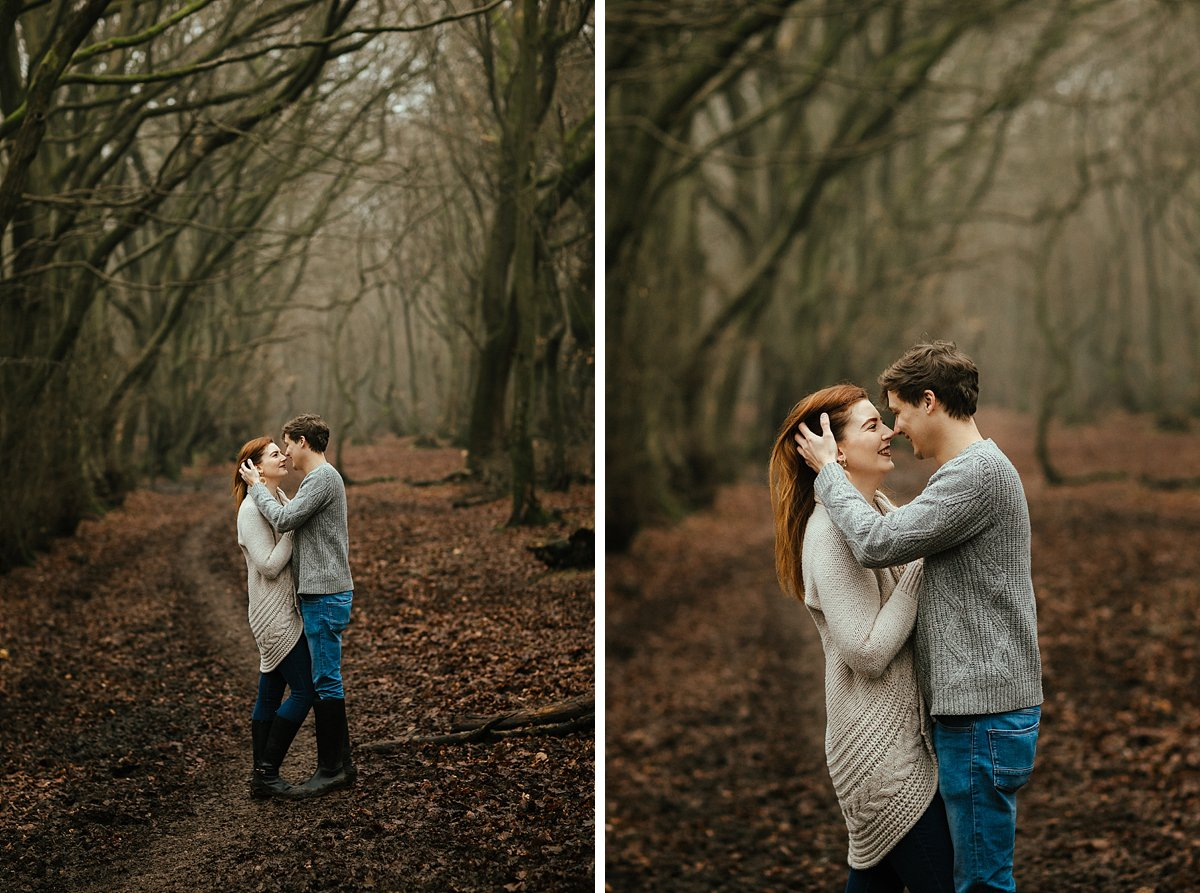 Natural and creative Buckinghamshire prewedding photography