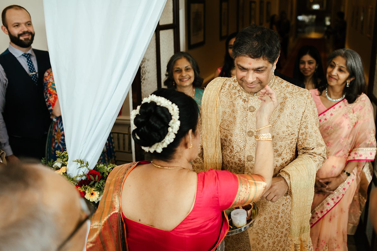 Hindu wedding ceremony in Addington Palace