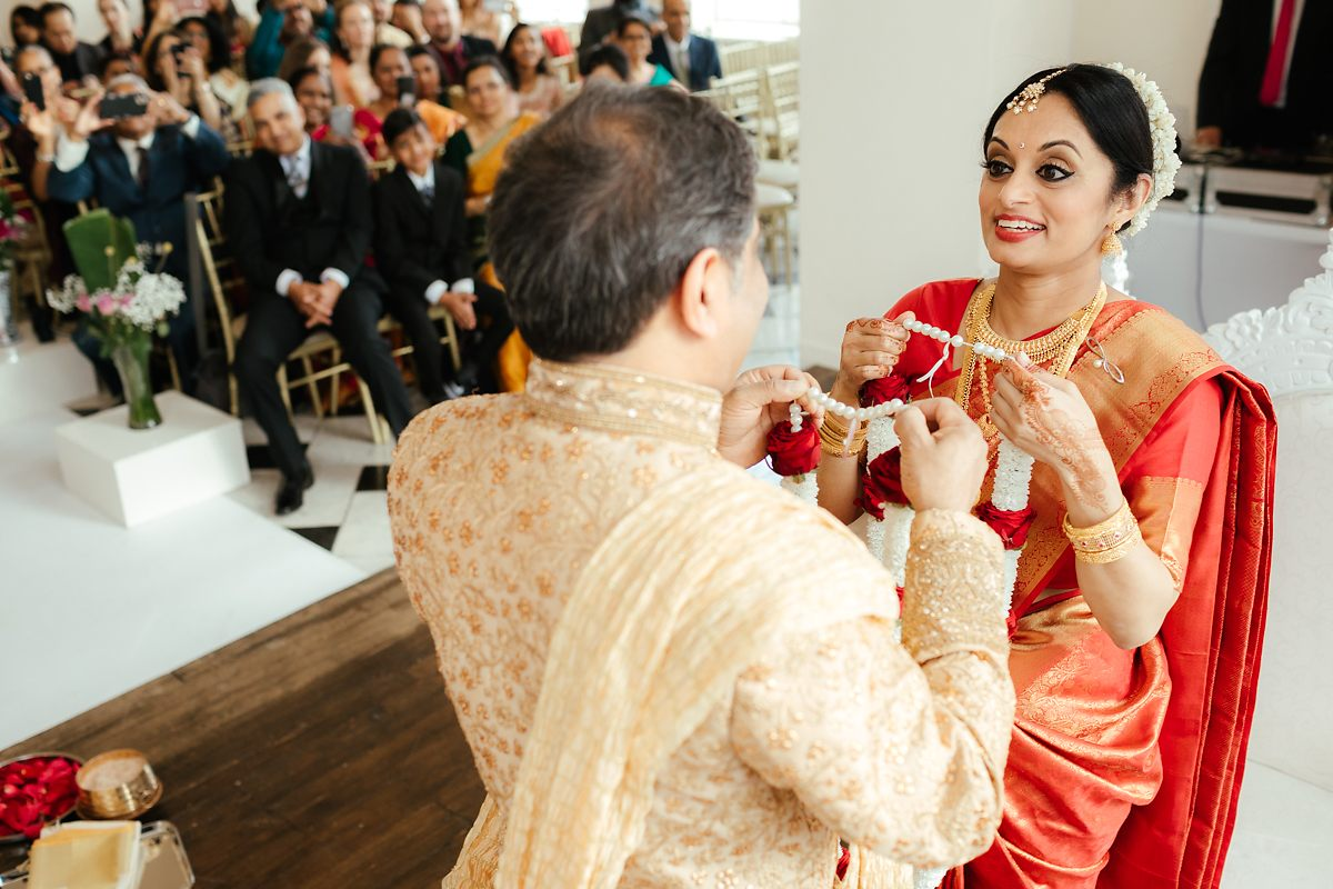 Hindu wedding ceremony in London
