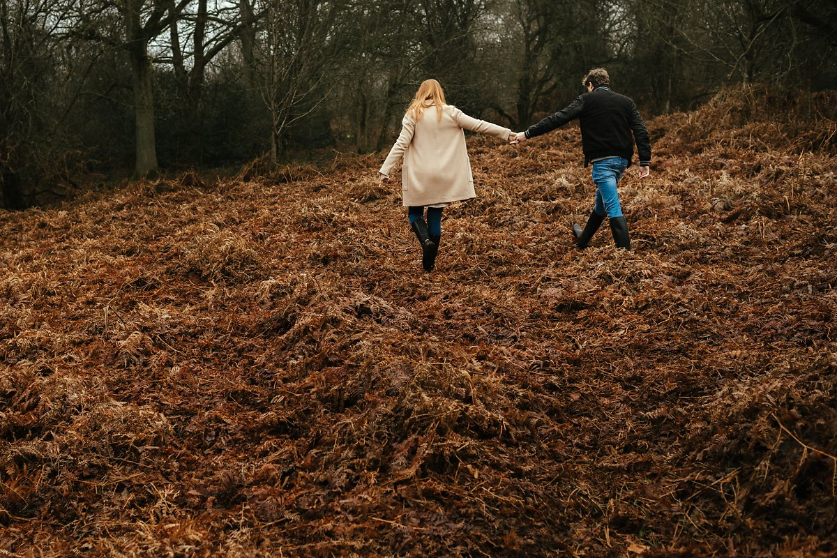 Coombe Hill Pre-wedding photoshoot
