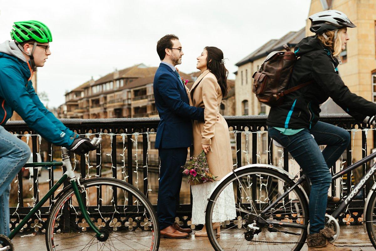 Romantic Cambridge wedding photos