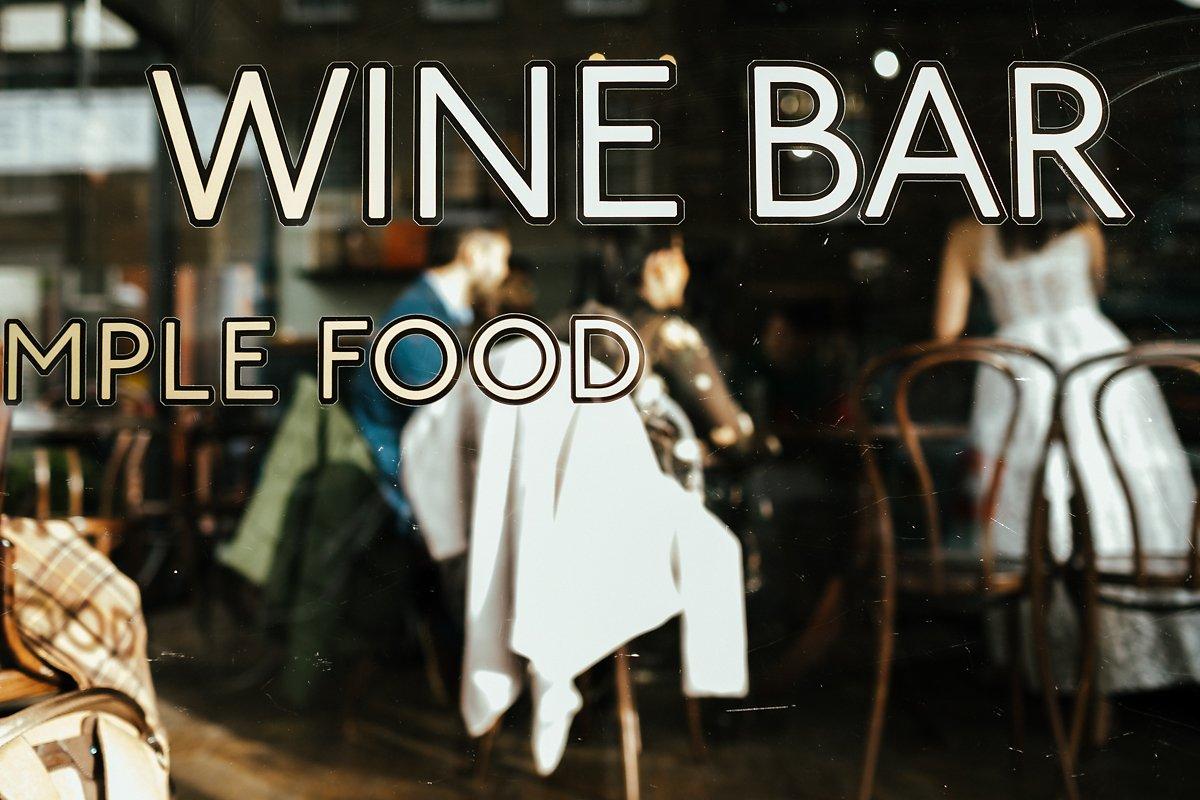Cmabridge Wine Bar wedding drinks
