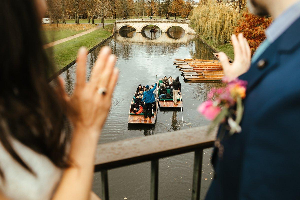 Wedding photos at River Cam
