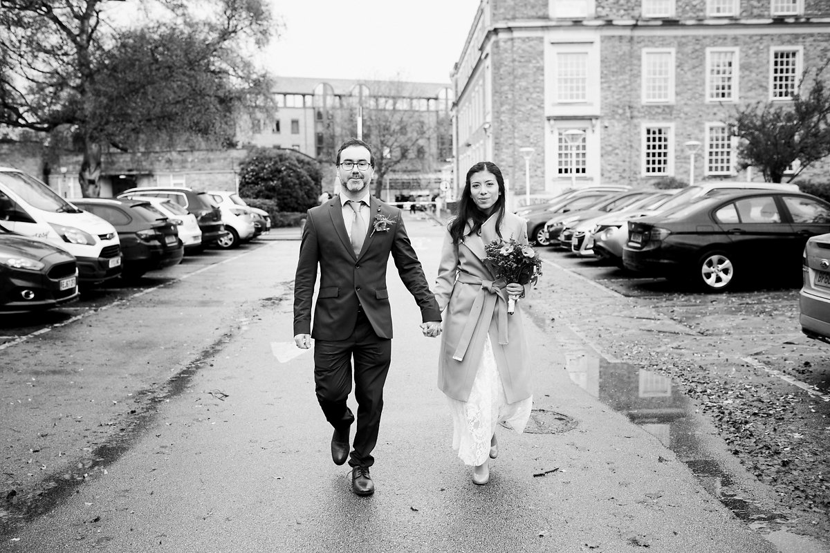 Cambridge Town Hall wedding ceremony location