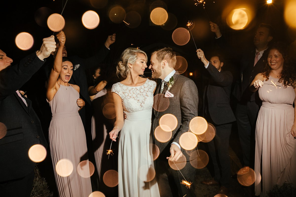 Why Long Sparklers are Good on a Wedding Day