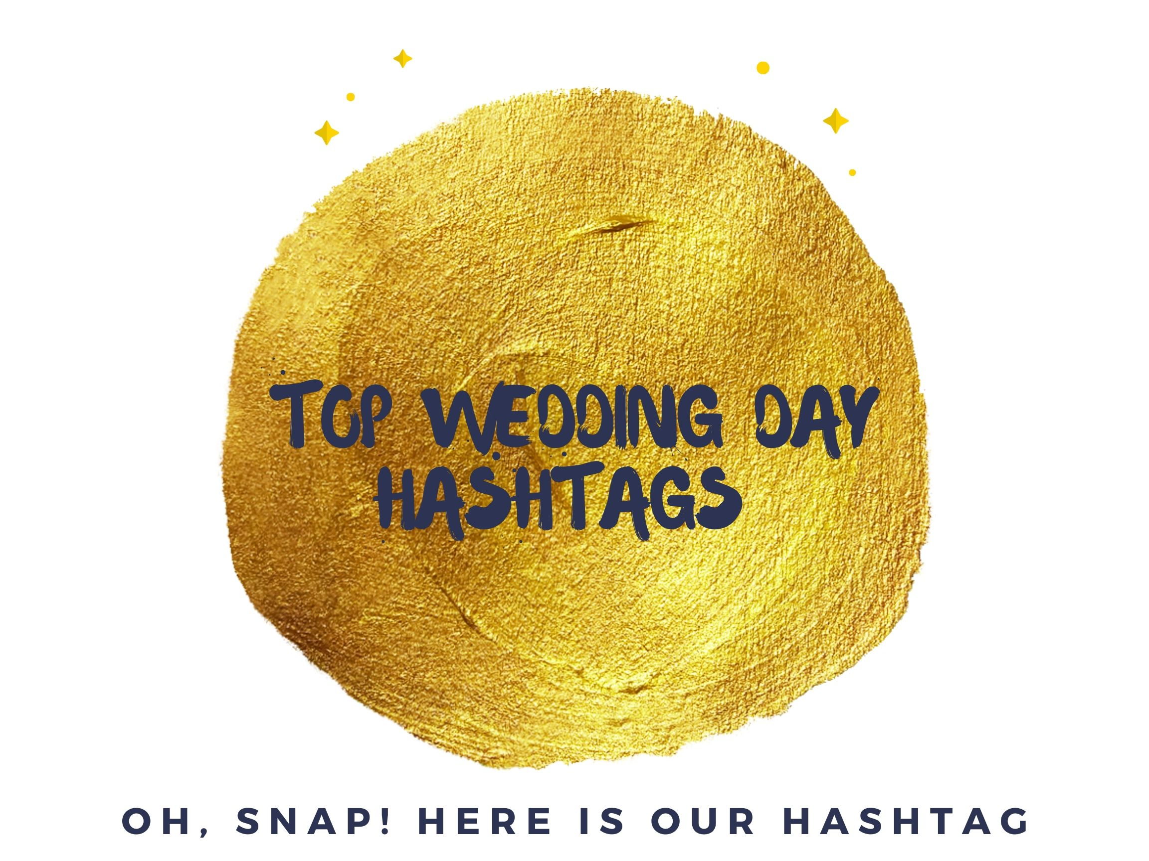 Winning Wedding day Instagram Hashtags