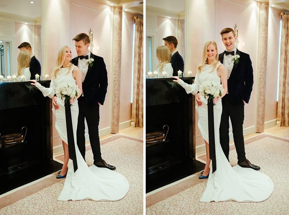 Best Claridges wedding photographer