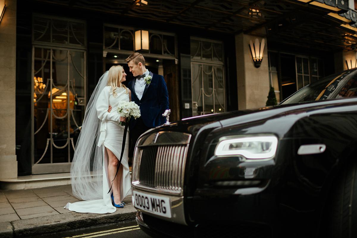 Modern Claridges Wedding Photography