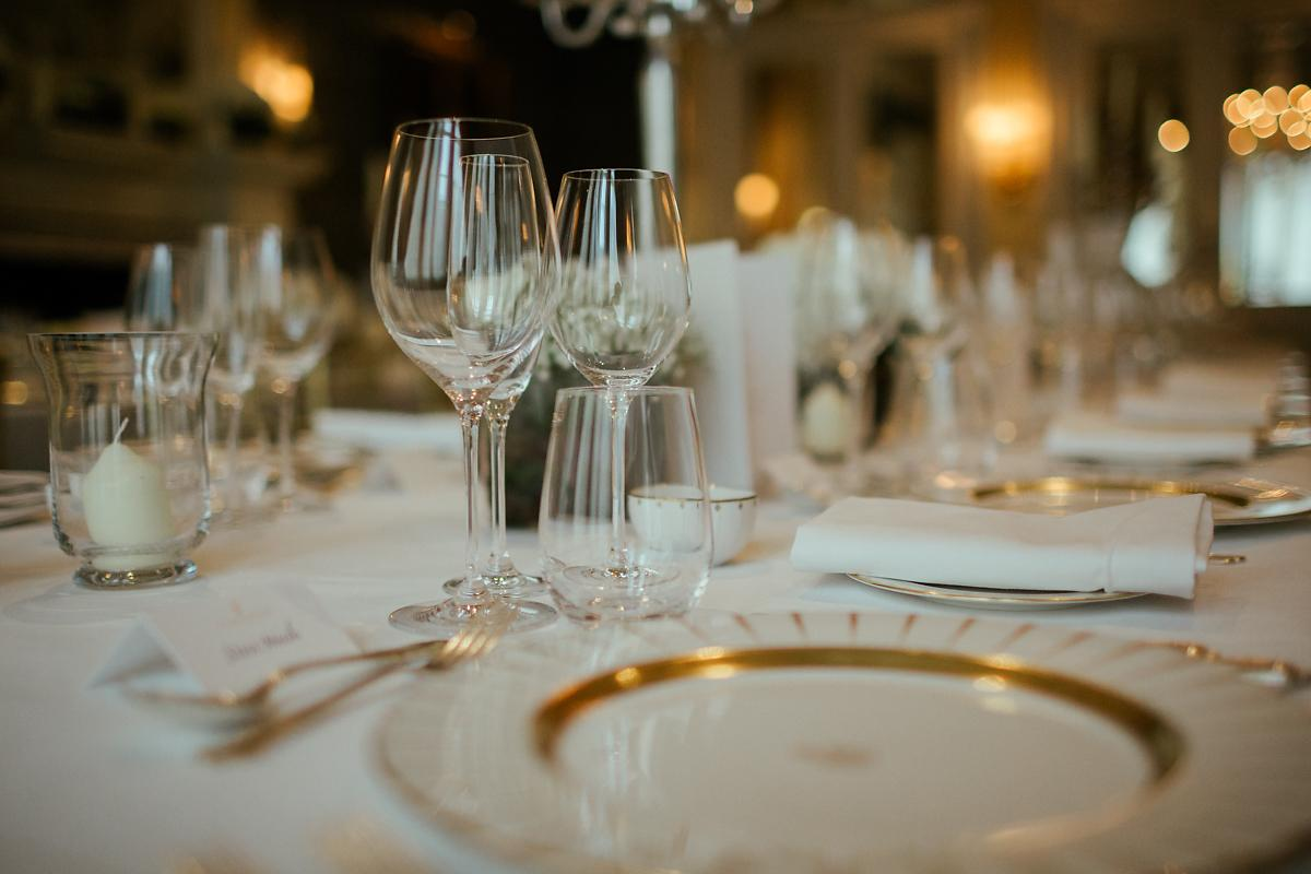 Best Claridges wedding table decorations