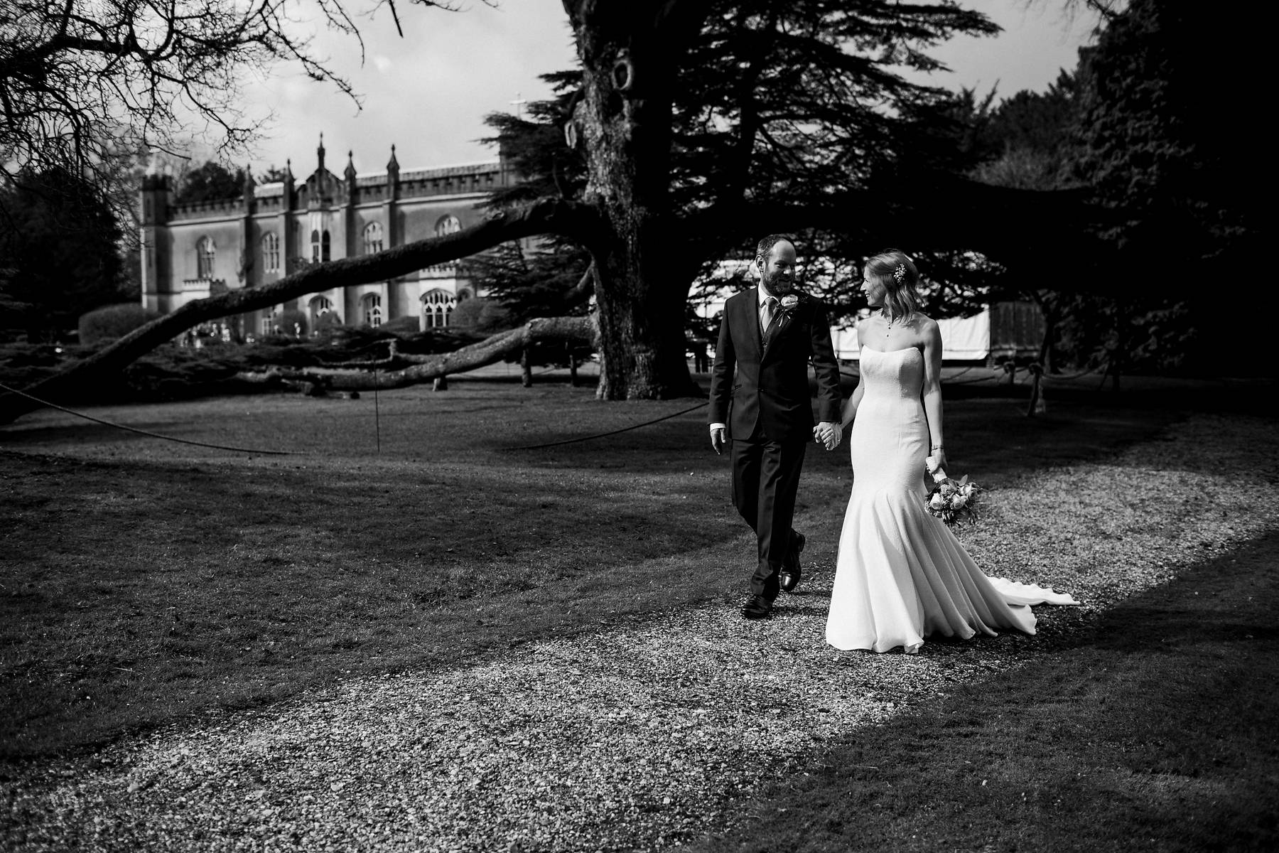 Relaxed Spring Missenden Abbey wedding