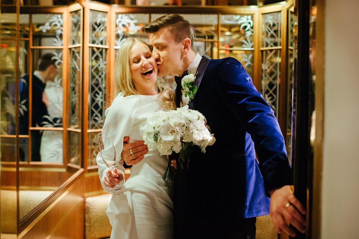 Romantic wedding at Claridges in London